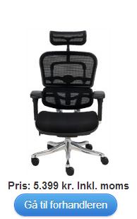 Køb Ioo ergonomisk bred kontorstol