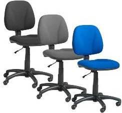 Lav ryg kontorstole kommer i mange farver
