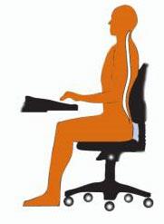 sådan skal du sidde på en korrekt måde