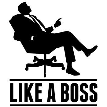 kontorstol som en ægte chef