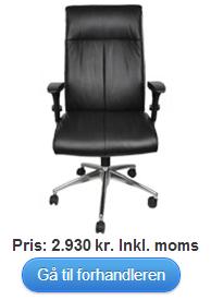Køb Premium chef stolen - høj ryg